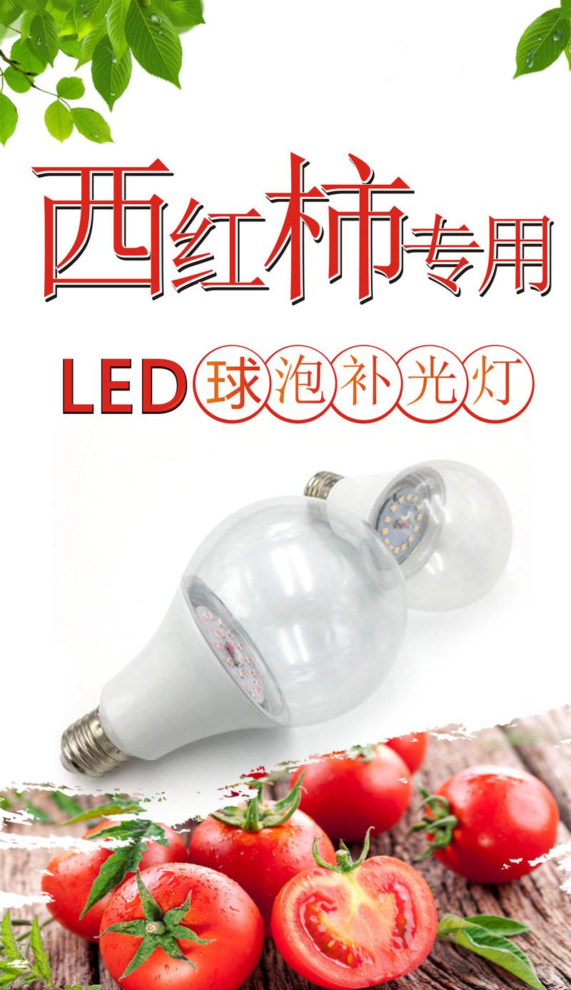 植物补光灯球泡灯